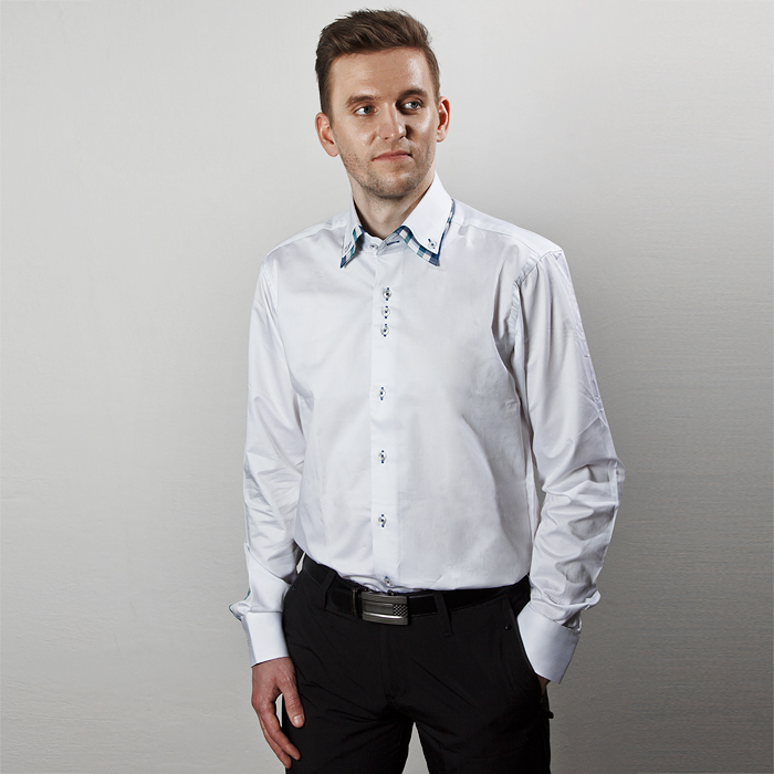Pánské košile - Společenská konfekce Vsetín 8fbffb8030