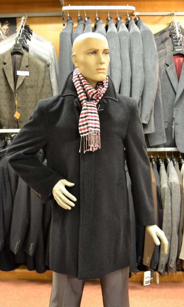 Pánská bunda od firmy Jupiter Pánský kabát od firmy Koutný Prostějov 587f8d18eb