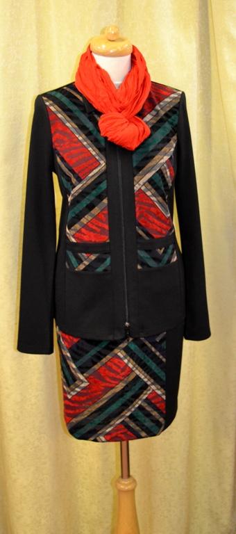 Kalhotové a sukňové kostýmky - Společenská konfekce Vsetín af7fccf271